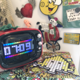"""【インテリア】女子ウケ◎プレゼントにもアリな置き型ワイヤレススピーカー♪アメリカンレトロな""""TIVOO"""""""